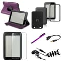 Insten® 1054444 7 Piece Tablet Case Bundle For Barnes & Noble Nook HD