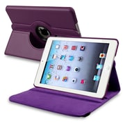 Insten PAPPIPDMLC21 Synthetic Leather Folio Case for Apple iPad Mini 1/2/3, Purple