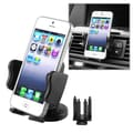 Insten® Phone Holder For LG Extravert VN271, Black