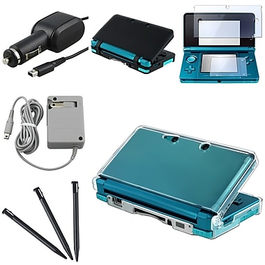 Insten® 352570 7 Piece Game Case Bundle For Nintendo 3DS