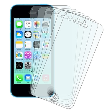 Insten® Anti Glare Screen Protector Set For Apple iPhone 5/5S/5C, Clear, 6/Pack