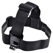 Insten® Head Belt Strap Mount For GoPro Hero 1/2/3/3+, Black