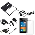 Insten® 752240 10 Piece Case Bundle For Nokia Lumia 900