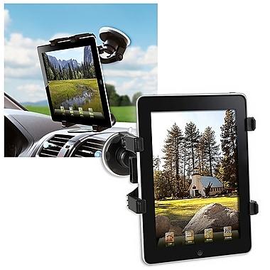 Insten® PAPPIPADPH02 Tablet Windshield Holder For Apple iPad/iPad2, Black