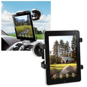 Insten® PAPPIPADPH02 Tablet Windshield Holder For Apple iPad/iPad2, Black