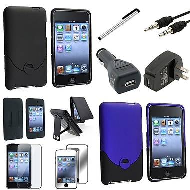Insten® 337577 10 Piece Case Bundle For iPod Touch 2nd/3rd Gen