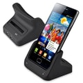 Insten® 2-in-1 Cradle With USB/ AC Battery Charger For Samsung Galaxy SII, Black