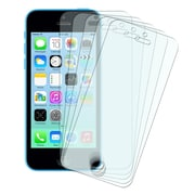 Insten® Anti Glare Screen Protector Set For Apple iPhone 5/5S/5C, Clear, 5/Pack