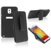 Insten® Swivel Holster With Stand For Samsung Galaxy Note III N9000, Black