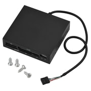 Insten® 3 1/2 All-in-1 Internal Memory Card Reader, Black