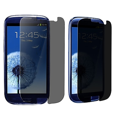 Insten® Privacy Filter Screen Protector For Samsung Galaxy S3, Clear