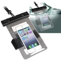 Insten® PVC Waterproof Bag With Armband For Samsung Galaxy Note III N9000, Clear Black
