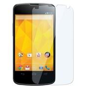 Insten® Reusable Screen Protector For LG Nexus 4 E960, Clear