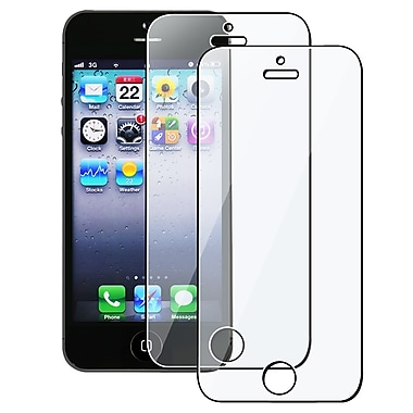 Insten® Reusable Screen Protector For Apple iPhone 5/5S/5C, Clear, 2/Pack