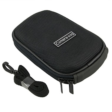 Insten® Nylon Digital Camera Case For Fuji FinePix V10, Black