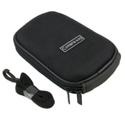 Insten® Nylon Digital Camera Case For Fuji FinePix V10, Black