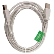 Insten 6' USB 2.0 Type B Male to Type B Male Data Transfer Cable, White