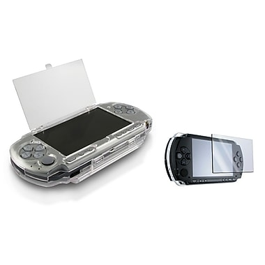Insten® 244116 2 Piece Game Case Bundle For Sony PSP Slim 2000/3000