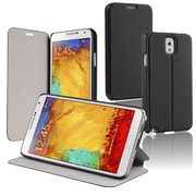 Insten® Leather Case With Stand For Samsung Galaxy Note III N9000, Black