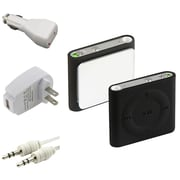 Insten® 323557 4 Piece Universal Case Bundle For Apple iPod Shuffle 4th Gen