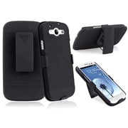 Insten® Holster With Stand For Samsung Galaxy S III/S3, Black