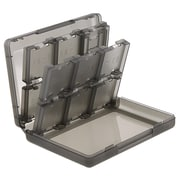Insten® 24-In-1 Game Card Case For Nintendo 3DS, Smoke