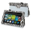 Insten® Leather Case With Stand For Amazon Kindle Fire HD 7in. 2013 Edition, Black Zebra