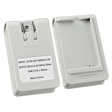 Insten® Battery Desktop Charger For Samsung Galaxy S III/S3 i9300, White