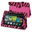 Insten® Leather Case With Stand For Amazon Kindle Fire HD 7in. 2013 Edition, Hot Pink Zebra