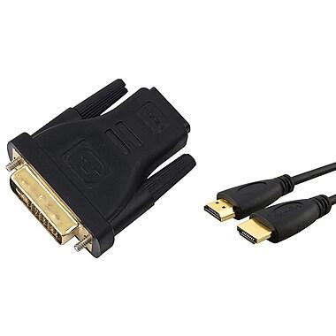 Insten® 384197 2 Piece TV Adapter Bundle