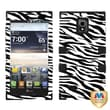 MYBAT™ TUFF Rubberized Hybrid Phone Protector Case For LG VS930/Spectrum 2, Zebra Skin/Black