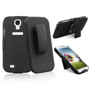 Insten® Swivel Holster With Stand For Samsung Galaxy S IV/S4, Black