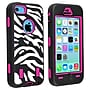Insten® Silicone Hybrid Case For Apple iPhone 5C,