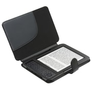 Insten® Leather Case For Amazon Kindle 3, Black
