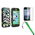 Insten® 1397832 3 Piece Case Bundle For Apple iPhone 5C
