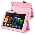 Insten® Leather Case With Stand For Amazon Kindle Fire HDX 7in., Pink