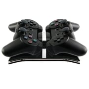 Insten® Dual Charging Station For Sony PS3 Controller, Black