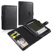 Insten® Leather Case For Amazon Kindle Fire, Black