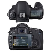 Insten® LCD Reusable Screen Protector For Canon EOS 7D, Clear
