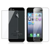 Insten® Front/Back Reusable Screen Protector For Apple iPhone 5/5S, Clear