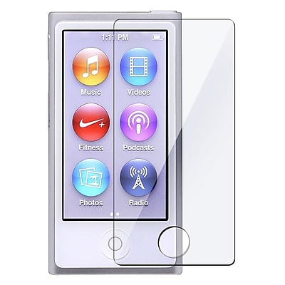 Insten Reusable Screen Protector For Apple iPod Nano 7th Generation Clear