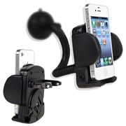 Insten® Windshield Mount Cellphone and PDA Holder, Black
