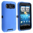 Insten® Silicone Hybrid Case For HTC Inspire 4G/Desire HD, Blue/Black