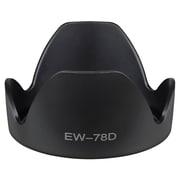 Insten® Replacement Lens Hood For 102 mm Canon EW-78D, Black