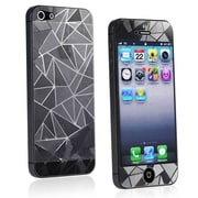 Insten® Front/Back Screen Protector For Apple iPhone 5, 3D Diamond Blink