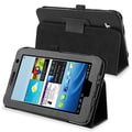 Insten® Leather Case For 7in. Samsung Galaxy Tab 2 P3100/P3110, Black
