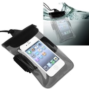 Insten® PVC Waterproof Bag For Samsung Galaxy Note III N9000, Clear Black