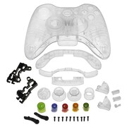 Insten® Crystal Shell For Xbox 360 Wireless Controller, Clear