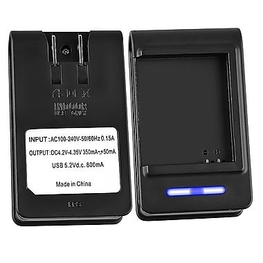 Insten® Battery Desktop Charger For Samsung Galaxy S i9000, Black