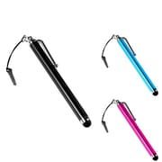 Insten® 943217 3 Piece Universal Stylus Bundle For Apple iPhone/iPod/iPad
